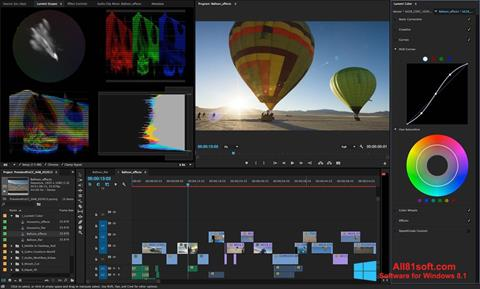 Screenshot Adobe Premiere Pro para Windows 8.1
