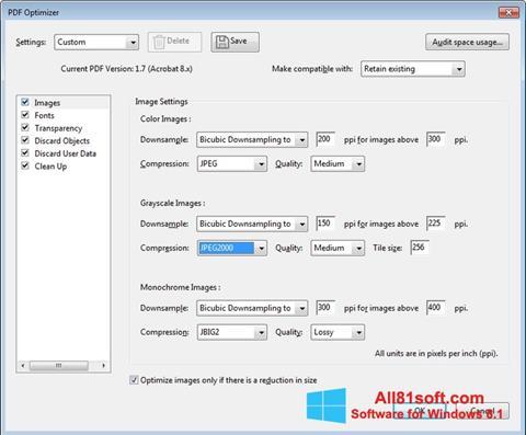 Screenshot Adobe Acrobat Pro DC para Windows 8.1