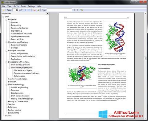 Screenshot Sumatra PDF para Windows 8.1
