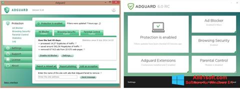 Screenshot Adguard para Windows 8.1