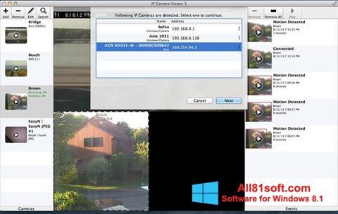 Screenshot IP Camera Viewer para Windows 8.1