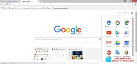 Screenshot Google Chrome para Windows 8.1
