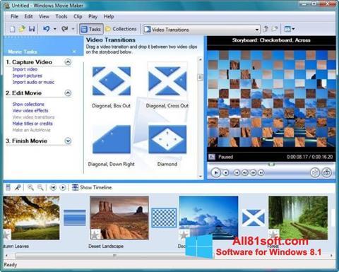 Screenshot Windows Movie Maker para Windows 8.1
