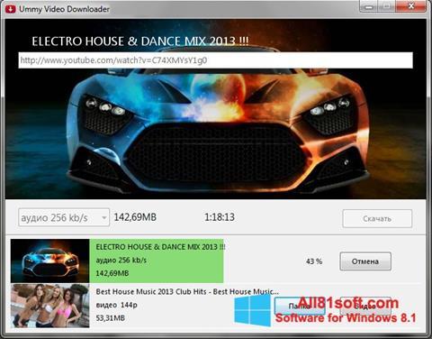 Screenshot Ummy Video Downloader para Windows 8.1